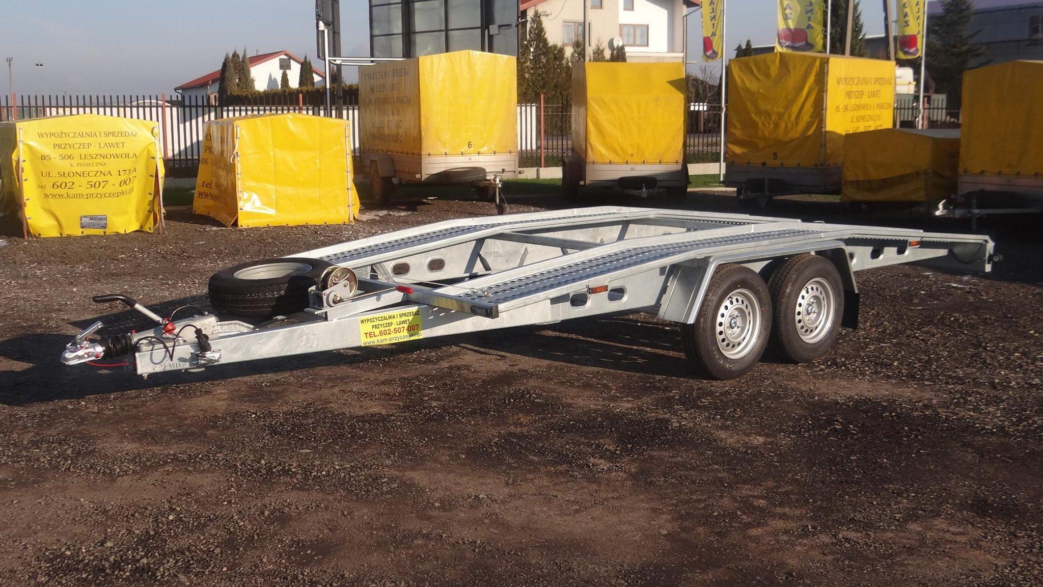 """Laweta samochodowa """"BUS"""" DMC 2500 kg"""