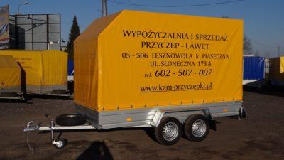 """Przyczepa """"LODÓWKA"""" DMC 600 kg"""