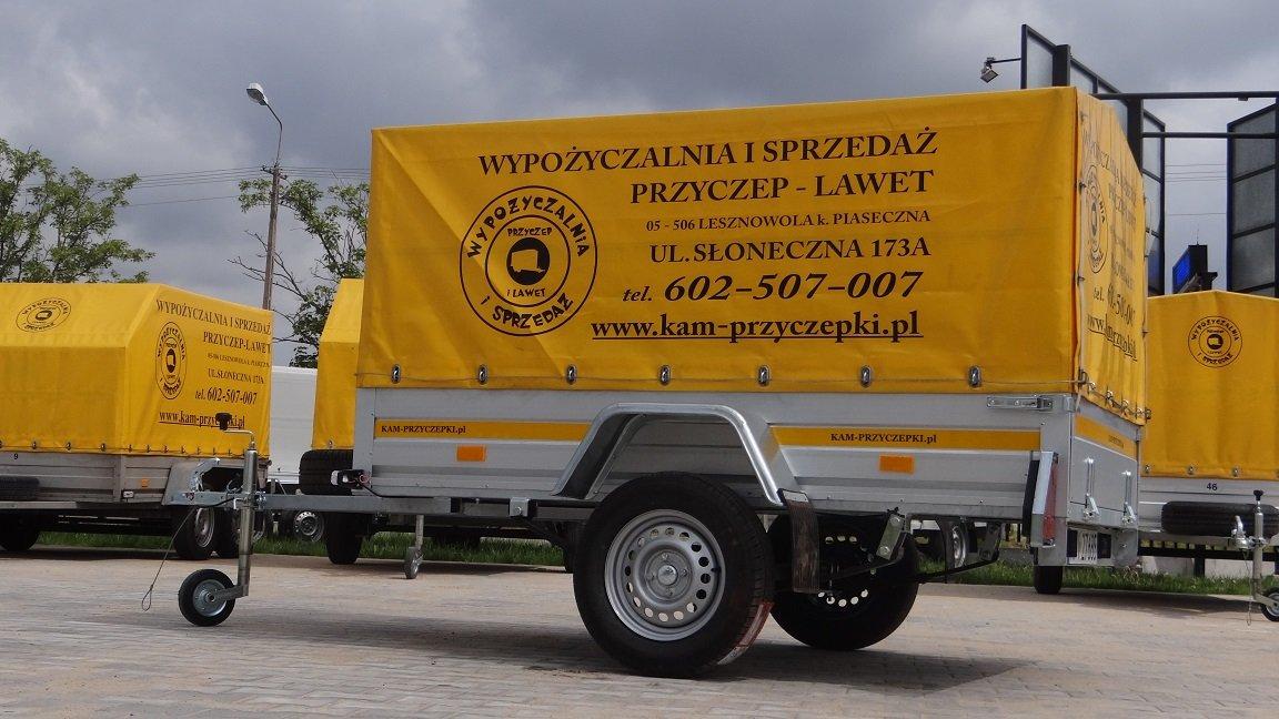 Wypożyczalnia przyczep Warszawa